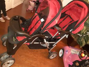 Double stroller basically brand new for Sale in Atlanta, GA