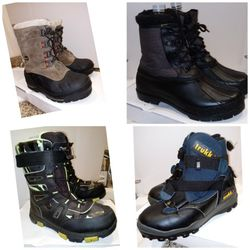 Winter Men Boy Snow Ski Snowboarding SnowMobile Boots for Sale in Merced,  CA
