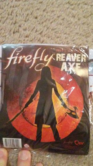 Firefly inflatable axe for Sale in New Albany, OH