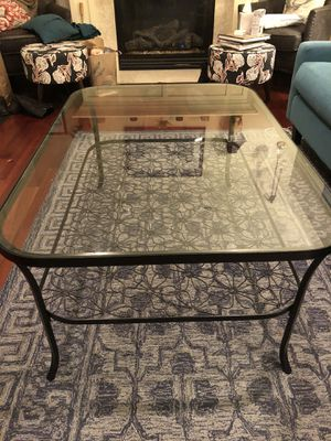 Glass top coffee table for Sale in Seattle, WA
