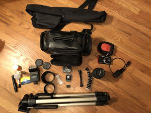 70-300mm sigma macro lens, Samsung TL225 etc for Sale in Oregon City, OR
