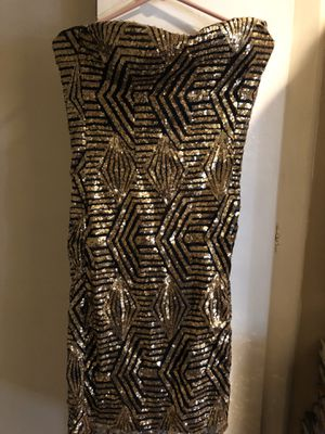 Glittery gold dress for sale for Sale in Temple City, CA