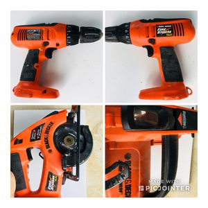 BLACK+DECKER -Drill & Circular Saw Combo Kit for Sale in Baltimore, MD