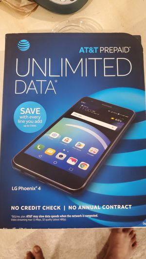 LG Phoenix 4 - Titan (for AT&T Network Only) See Description section about free item. for Sale in Frederick, MD