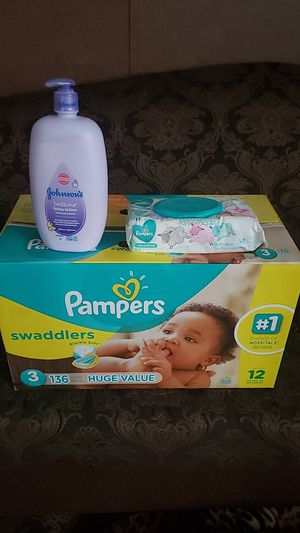 Pampers size 3 for Sale in Austin, TX