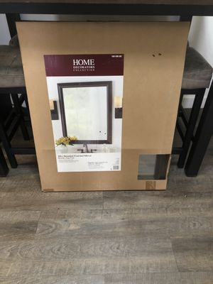HOME framed mirror for Sale in Garden Grove, CA