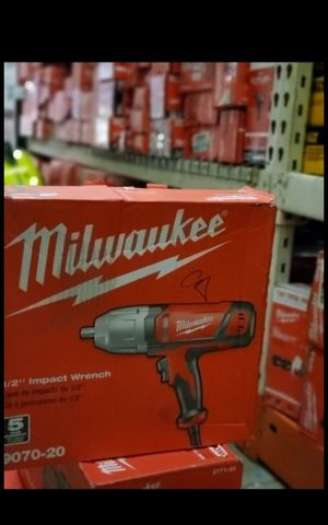 MILWUAKEE CORDED 1/2 IMPACT WRENCH BRAND NEW for Sale in San Bernardino, CA