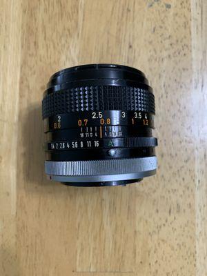 Canon Lens FD 50mm 1.4 for Sale in Addison, IL