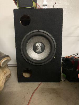 """Boss 15"""" 1400watt subwoofer in ported box for Sale in Marysville, WA"""