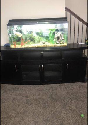 60 gallon aquarium with stand for Sale in Douglasville, GA