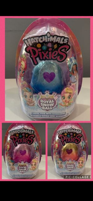 Hatchimals Pixies, 2.5-Inch Collectibles- Brand New! 3 for $18 for Sale in Westminster, CA