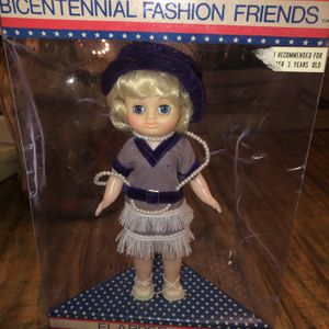 Sealed Bicentennial Fashion Friends Frontier Flapper 1925 Richard Toy Co. 8 in for Sale in Chula Vista, CA