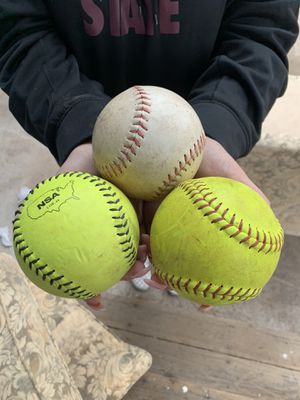 3 softballs for Sale in Payson, AZ
