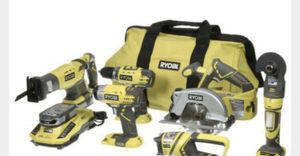 Ryobi 18-Volt Lithium-Ion Combo Power Tool Kit for Sale in St. Petersburg, FL