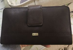 New- Women's Leather Bifold Checkbook Wallet for Sale in Toms River, NJ