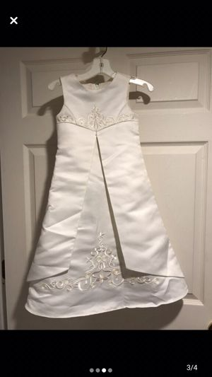 Flower girl dress size 3 for Sale in Livonia, MI