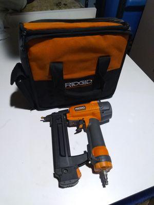 Ridgid Finish Stapler Nail Gun for Sale in Whittier, CA