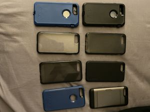 iPhone 7 Plus/ 8 plus assorted cases for Sale in Lochearn, MD