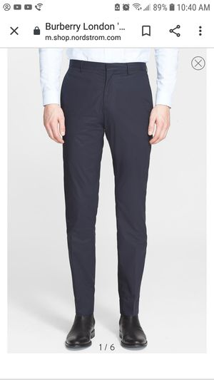 Burberry millbank Trouser Men's NWT for Sale in Rocklin, CA