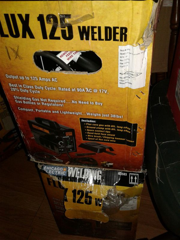 Lot for sale: 21 gallon air compressor and welder