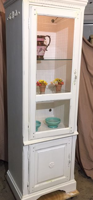 Tall Farmhouse Cabinet for Sale in Fort Myers, FL