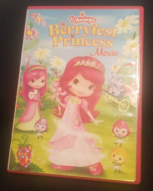 Strawberry Shortcake The Berryfest Princess Movie DVD for Sale in Columbia, SC
