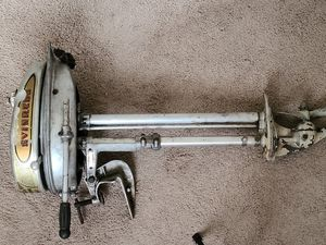 Vintage Evinrude Ranger Elto Outboard Motor 4265 1939-1941 Silver Used for Sale in Southampton Township, NJ