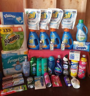 All Oxi laundry care care Household Bundle! for Sale in BETHEL, WA