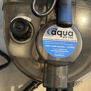 Aqua pro vac Water Vacuum for Sale in The Bronx, NY