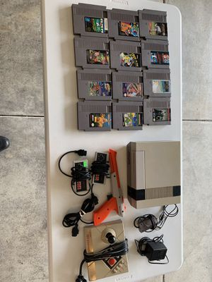 (NES) Nintendo Entertainment System and 12 games for Sale in Kent, WA