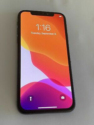 Apple iPhone X - 256 GB - Space Gray (Unlocked) for Sale in Everett, MA