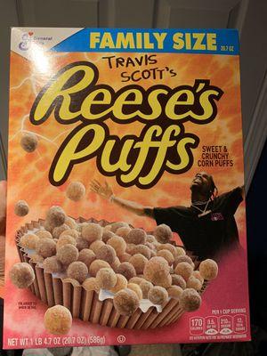Travis Scott x Reese's Puffs Rare for Sale in Wentzville, MO