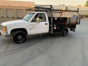 1999 Chevrolet Silverado 3500 V8 Gasoline flatbed for Sale in Fremont, CA