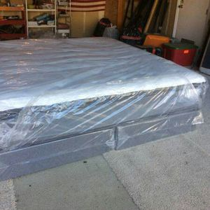 New eastern king pillow top mattress and box spring available. Delivery is available for Sale in Elk Grove, CA