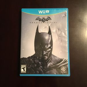 Batman Arkham Origins - Nintendo Wii U for Sale in Tacoma, WA