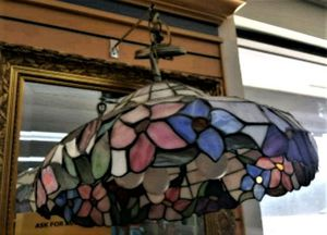 Beautiful Tiffany Lamp Chandelier Colorful Flowers for Sale in Clearwater, FL