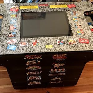 Arcade Game / Cocktail Table (12 Street Fighter Games) for Sale in Columbia, MO