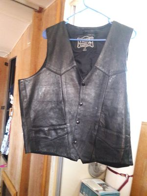 Leather vest for Sale in Rosamond, CA