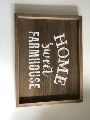 Home sweet farmhouse / framed art / home decor for Sale in Aurora, CO