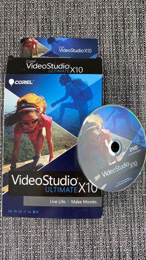 Video Studio X10 for Sale in Browns Mills, NJ