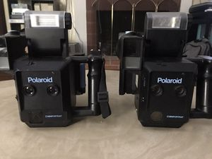 (2) Polaroid Miniportrait 203 Cameras FOR PARTS / AS IS for Sale in Orlando, FL
