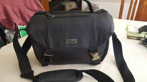 Nikon - Deluxe Film Digital SLR Camera Bag (grey) for Sale in Chesapeake, VA
