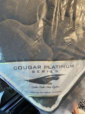Cougar Platinum Series king size camp trailer bed. for Sale in Lake Oswego, OR