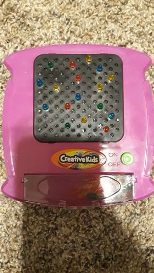 Mini light bright lite brite for Sale in Loganville, GA