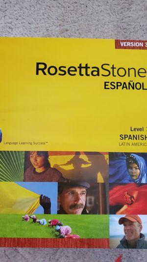 Rosetta Stone- Spanish for Sale in Newport News, VA