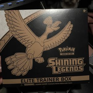 Pokemon Shining Legends Elite Trainer Box for Sale in Los Angeles, CA