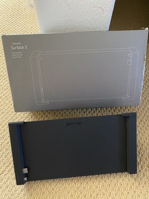 Microsoft Surface 3 docking station (not for surface pro3) for Sale in Elk Grove, CA