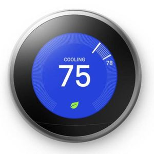 Nest Learning Thermostat 3rd Gen in Stainless Steel (A0013) for Sale in North Bend, WA