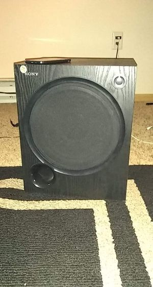 SONY Active Subwoofer for Sale in Minot, ND