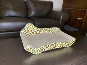 Leopard print cat scratch board/ cat bed for Sale in Alafaya, FL